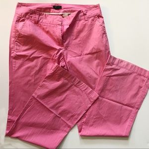 J. Crew Pink Trousers